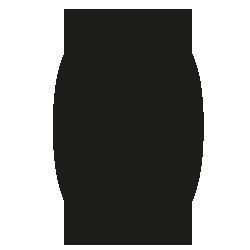 Cijfersticker - Cijfer 0 Arial - Cijferstickers