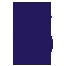 Cijfersticker - Cijfer 6 Arial - Cijferstickers