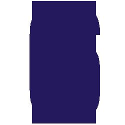 Cijfersticker - Cijfer 6 Impact - Cijferstickers