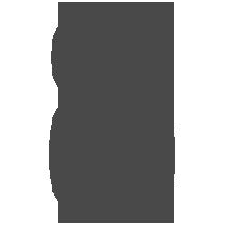 Cijfersticker - Cijfer 8 Impact - Cijferstickers