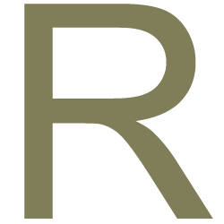 Letter sticker - Letter R Arial - Plakletter