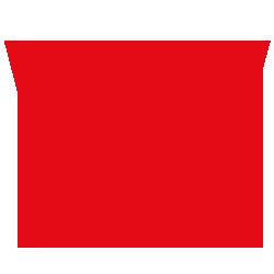Letter sticker - Letter W Arial - Plakletter