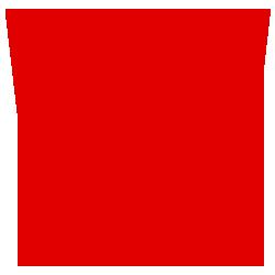 Letter sticker - Letter W Impact - Plakletter