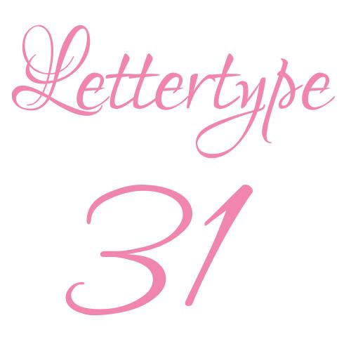 Naamstickers | Lettertype 131