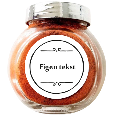 Label stickers rond