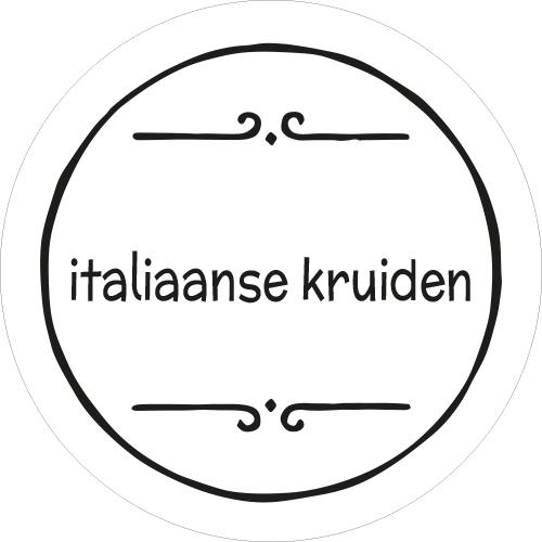 Stickers kruidenpot