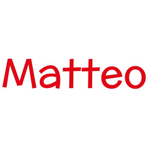 Naamstickers | Lettertype 30