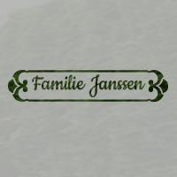 Zelfklevende raamfolie familienaam