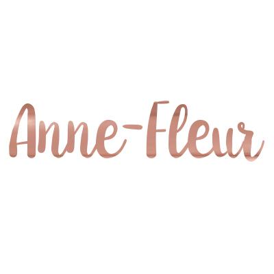 Sticker naam goud hoogglans roze
