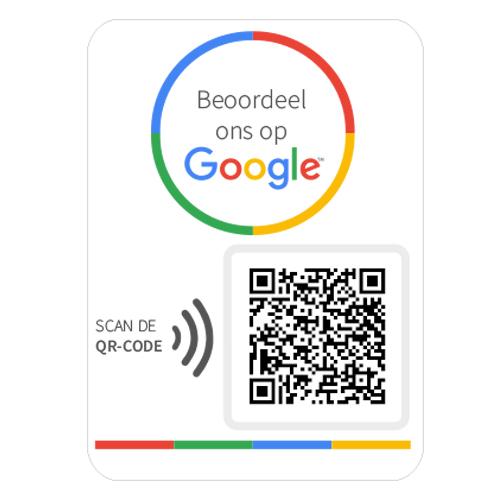 Google Review QR Code sticker