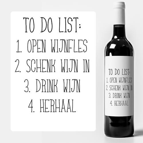 Maak je eigen wijnetiket