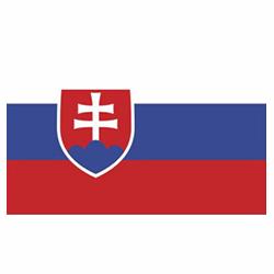Vlag Slowakije sticker | Landen vlaggenstickers