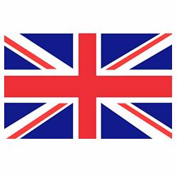 Vlag Verenigd Koninkrijk Engeland sticker | Landen vlaggenstickers