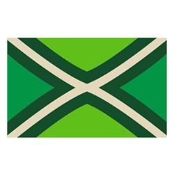 Vlag De Achterhoek sticker | Streek vlaggenstickers
