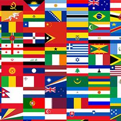 Sticker van eigen vlag   vlaggenstickers