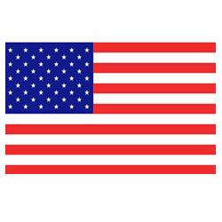 Vlag Amerika sticker   Landen vlaggenstickers