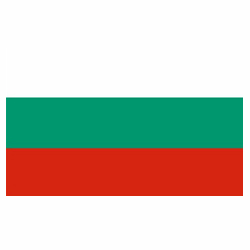 Vlag Bulgarije sticker | Landen vlaggenstickers