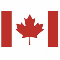 Vlag Canada sticker | Landen vlaggenstickers