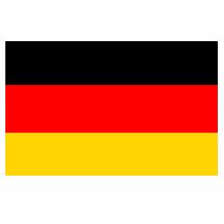 Vlag Duitsland sticker | Landen vlaggenstickers