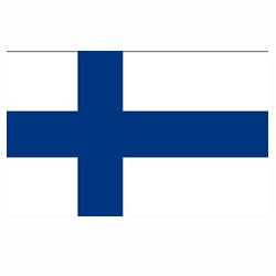 Vlag Finland sticker | Landen vlaggenstickers