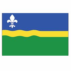 Vlag Flevoland sticker | vlaggenstickers