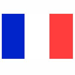 Vlag Frankrijk sticker | Landen vlaggenstickers