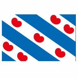 Vlag Friesland sticker | vlaggenstickers