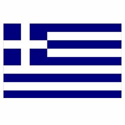 Vlag Griekenland sticker | Landen vlaggenstickers