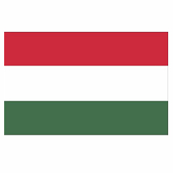 Vlag Hongarije sticker | Landen vlaggenstickers