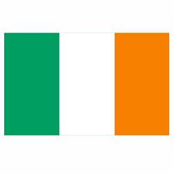 Vlag Ierland sticker | Landen vlaggenstickers