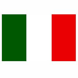 Vlag Italië sticker | Landen vlaggenstickers