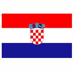 Vlag Kroatië sticker | Landen vlaggenstickers