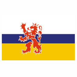 Vlag Limburg sticker | vlaggenstickers