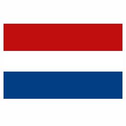 Vlag Nederland sticker   Landen vlaggenstickers