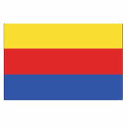 Vlag Noord Holland sticker | vlaggenstickers