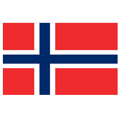 Vlag Noorwegen sticker | Landen vlaggenstickers