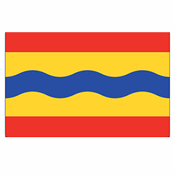 Vlag Overijssel sticker | vlaggenstickers