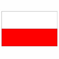 Vlag Polensticker | Landen vlaggenstickers