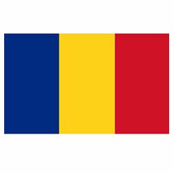 Vlag Roemenië sticker | Landen vlaggenstickers