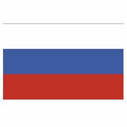 Vlag Rusland sticker | Landen vlaggenstickers