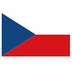 Vlag Tsjechië sticker | Landen vlaggenstickers