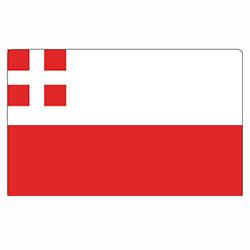 Vlag Utrecht sticker   vlaggenstickers