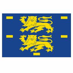 Vlag West-Friesland sticker | Streek vlaggenstickers