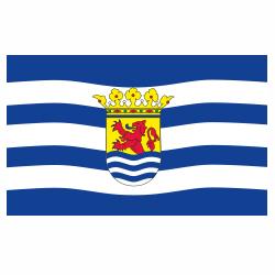 Vlag Zeeland sticker | vlaggenstickers