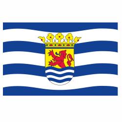Zeeuwse vlag sticker | Vlaggenstickers