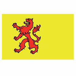 Vlag Zuid-Holland sticker | vlaggenstickers