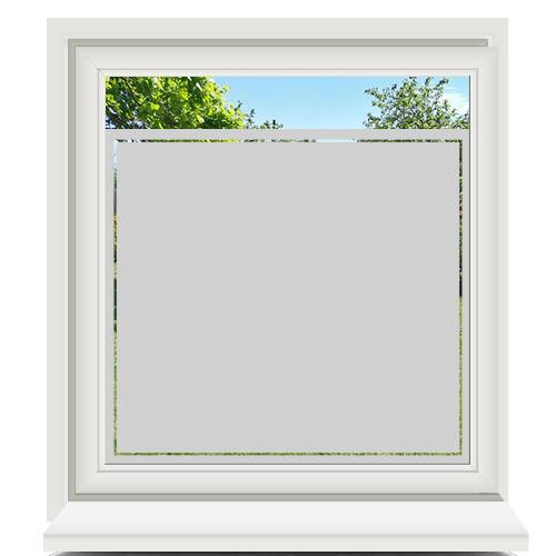 Zelfklevende raamfolie met lijn
