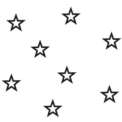 Stickers sterretjes