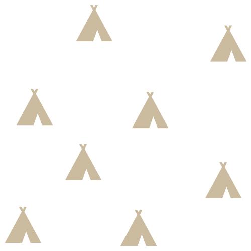 Wigwam indianen stickers