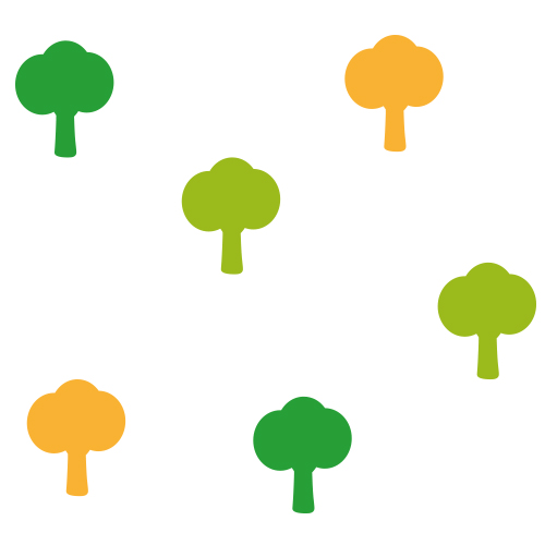 Bomen stickers